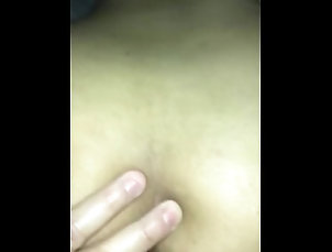 Horny pinay wife bouncing on hard cock