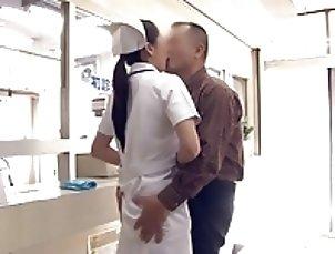 Kangofusan - JPN Nurses free morning service (censored)