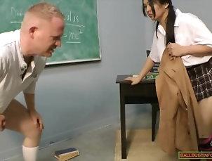 Asian Ballbusting 5