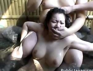 Hot Asian babe is fucked in the hot