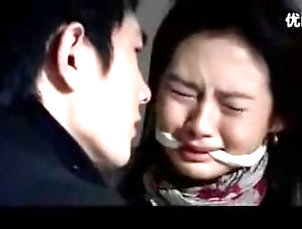 Chinese Lady Cleave Gagged